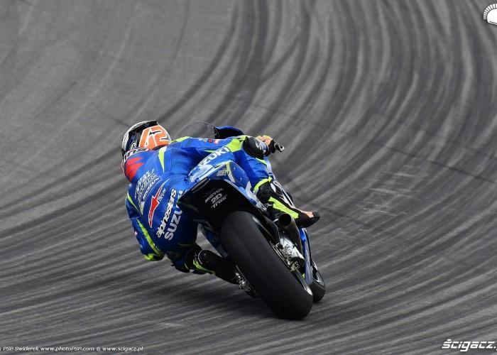 MotoGP Sachsenring Alex Rins 42 Ecstar Suzuki 13