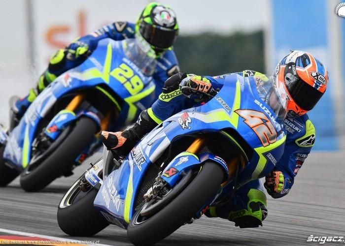 MotoGP Sachsenring Alex Rins 42 Ecstar Suzuki 15