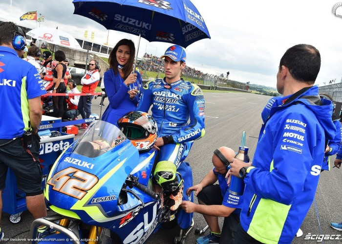 MotoGP Sachsenring Alex Rins 42 Ecstar Suzuki 16