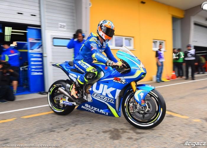 MotoGP Sachsenring Alex Rins 42 Ecstar Suzuki 2