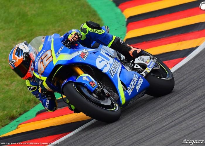 MotoGP Sachsenring Alex Rins 42 Ecstar Suzuki 3