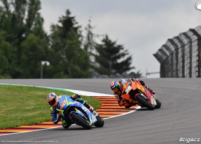 MotoGP Sachsenring Alex Rins 42 Ecstar Suzuki 4