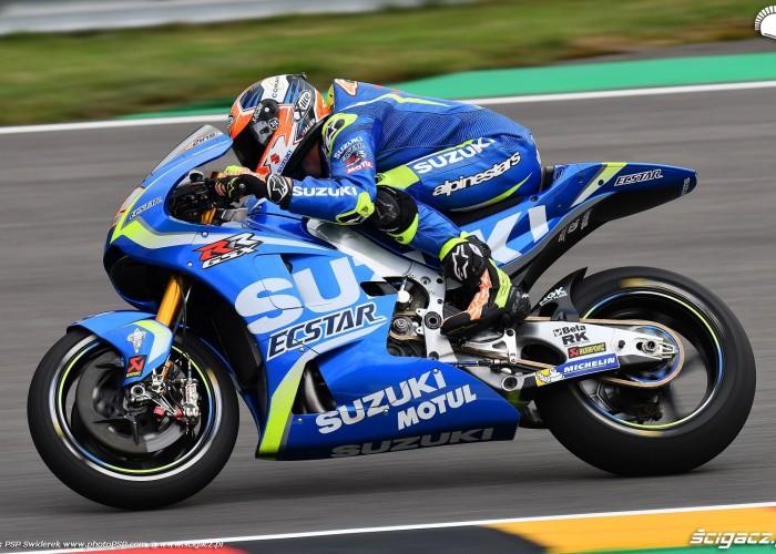 MotoGP Sachsenring Alex Rins 42 Ecstar Suzuki 5
