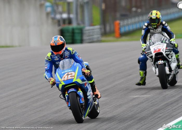 MotoGP Sachsenring Alex Rins 42 Ecstar Suzuki 7
