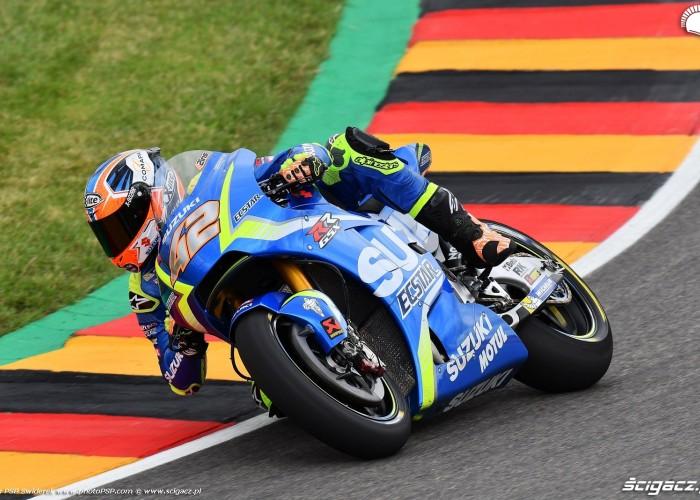 MotoGP Sachsenring Alex Rins 42 Ecstar Suzuki 8