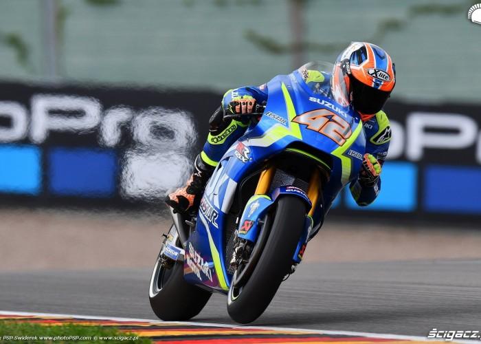 MotoGP Sachsenring Alex Rins 42 Ecstar Suzuki 9