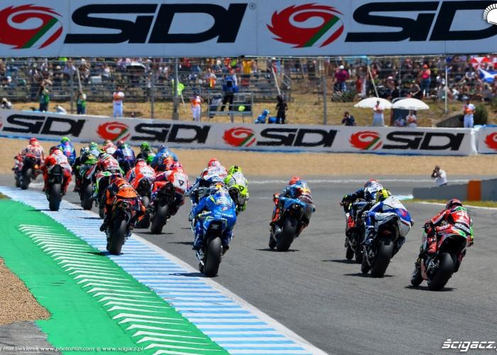 2 MotoGP Jerez wyscig B