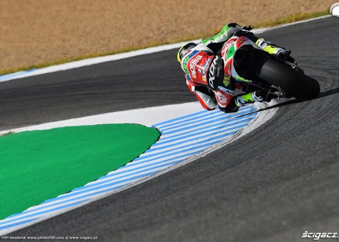 MotoGP Jerez Aleix Espargaro 41 Aprilia wyscig  1