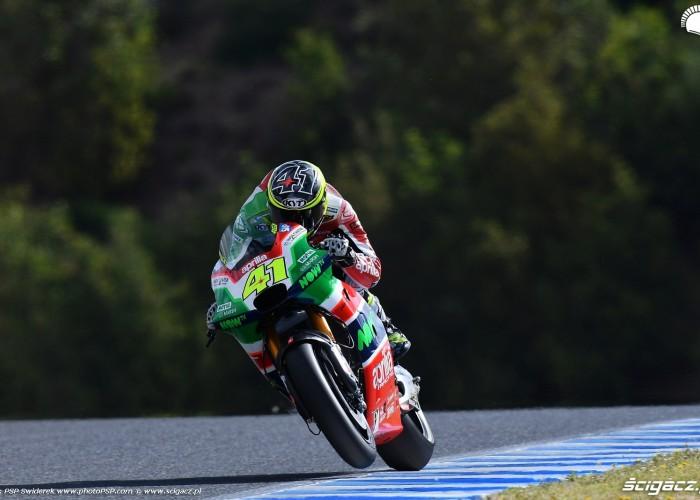 MotoGP Jerez Aleix Espargaro 41 Aprilia wyscig  4