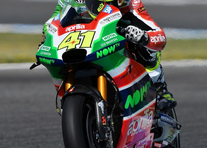 MotoGP Jerez Aleix Espargaro 41 Aprilia wyscig  5