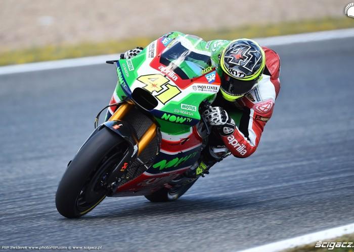 MotoGP Jerez Aleix Espargaro 41 Aprilia wyscig  6