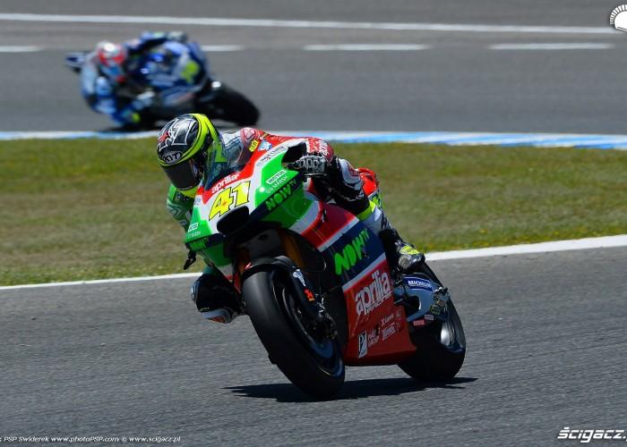 MotoGP Jerez Aleix Espargaro Aprilia 41 wyscig B 2