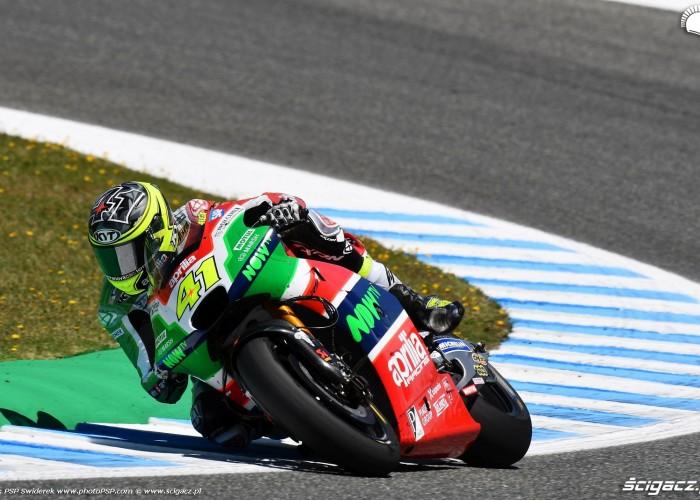 MotoGP Jerez Aleix Espargaro Aprilia 41 wyscig B 6