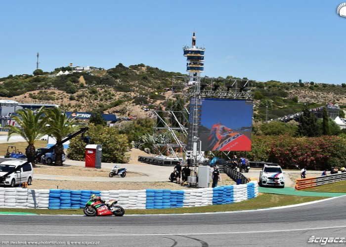 MotoGP Jerez Aleix Espargaro Aprilia 41 wyscig B 7