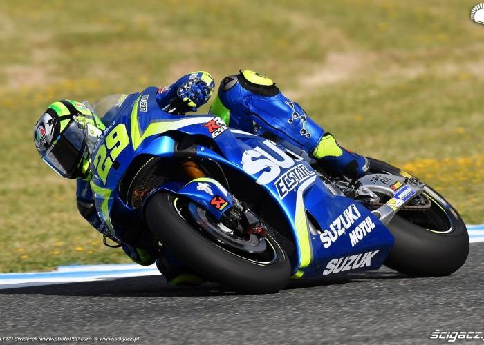 MotoGP Jerez Andrea Iannone 29 Suzuki wyscig 2