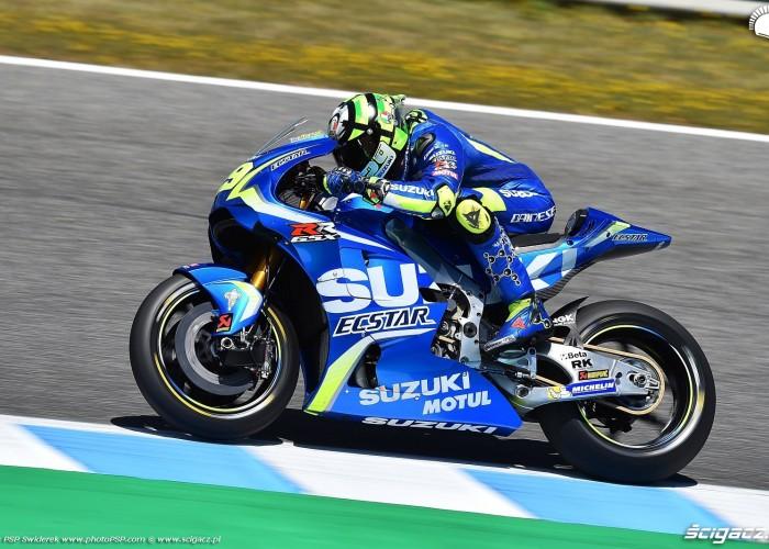 MotoGP Jerez Andrea Iannone 29 Suzuki wyscig 6