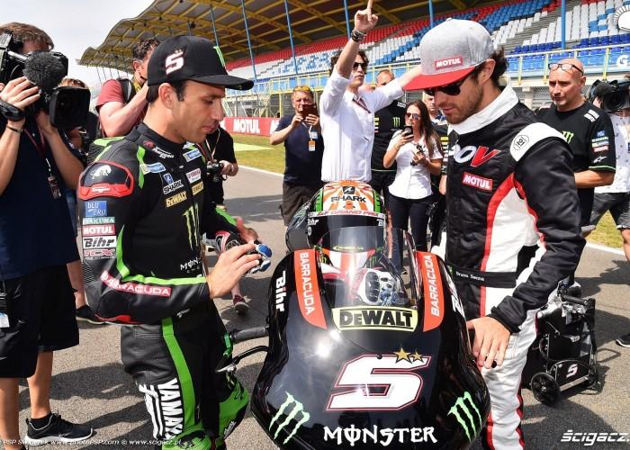 MotoGP Assen TT Motul Bruno Senna Johann Zarco Yamaha Tech3 Monster 5