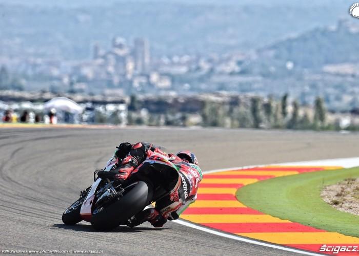MotoGP Aragon Aprilia Gresini 22 Sam Lowes 10