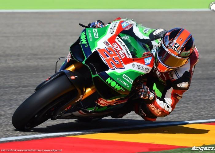 MotoGP Aragon Aprilia Gresini 22 Sam Lowes 11