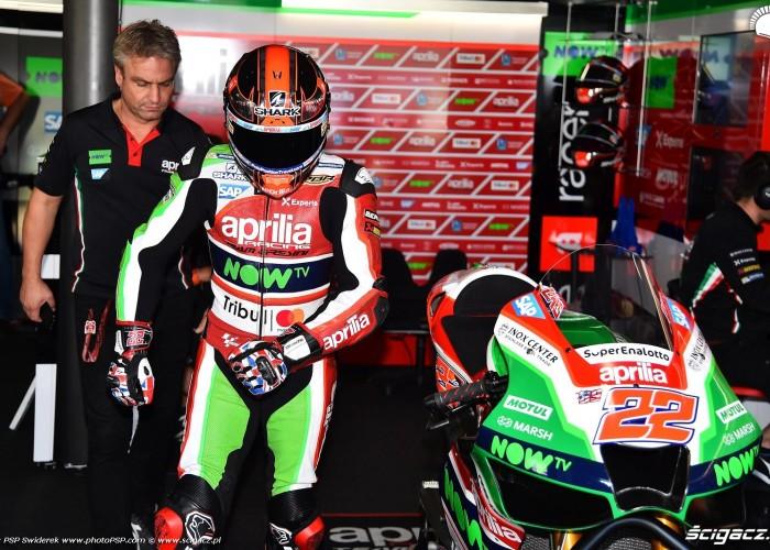 MotoGP Aragon Aprilia Gresini 22 Sam Lowes 9