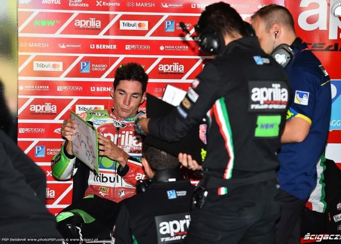 MotoGP Aragon Aprilia Gresini 41 Aleix Espargaro 13