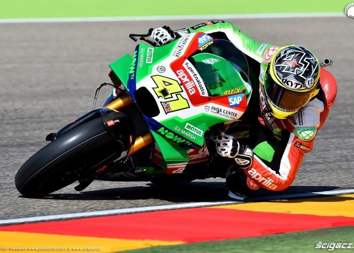 MotoGP Aragon Aprilia Gresini 41 Aleix Espargaro 14