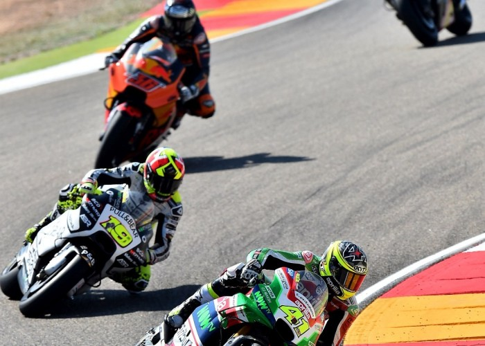 MotoGP Aragon Aprilia Gresini 41 Aleix Espargaro 19