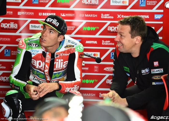 MotoGP Aragon Aprilia Gresini 41 Aleix Espargaro 2