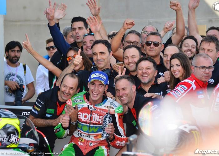 MotoGP Aragon Aprilia Gresini 41 Aleix Espargaro 21