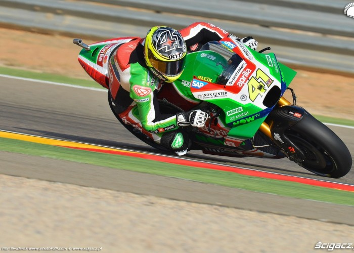 MotoGP Aragon Aprilia Gresini 41 Aleix Espargaro 7