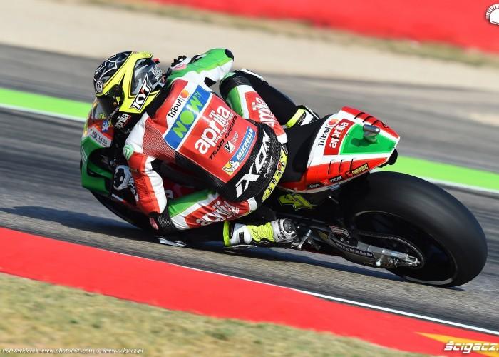 MotoGP Aragon Aprilia Gresini 41 Aleix Espargaro 9