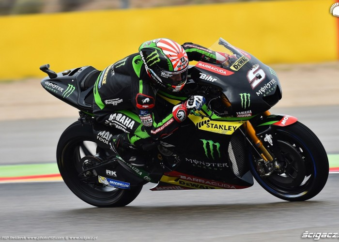 MotoGP Aragon Monster Tech3 Yamaha 5 Johann Zarco 9