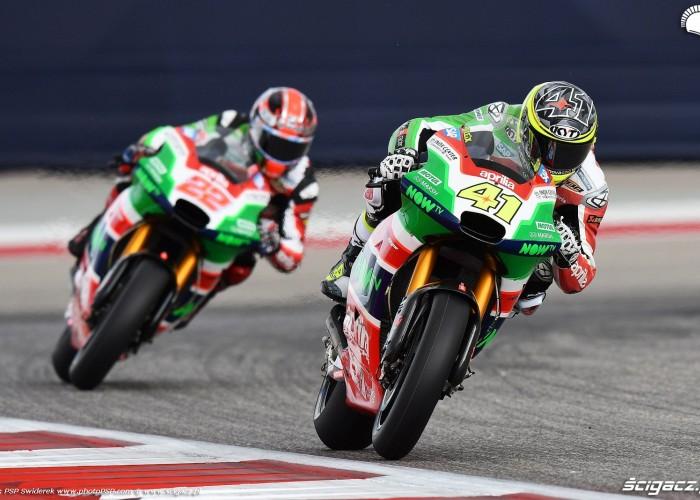 MotoGP Austin Aleix Espargaro 41 Aprilia 2