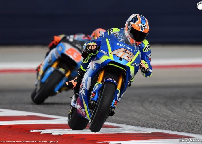MotoGP Austin Alex Rins 42 Suzuki 2