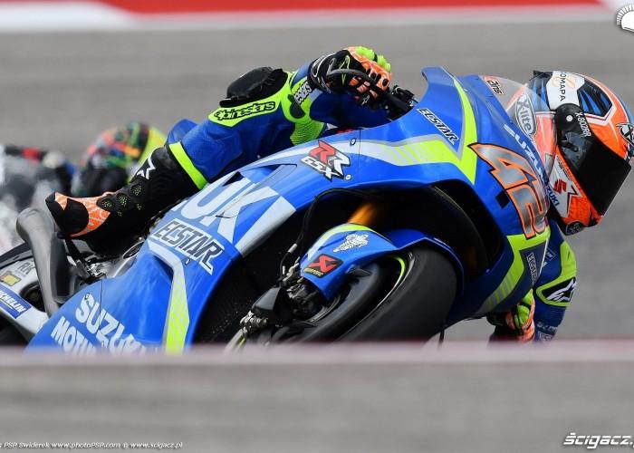 MotoGP Austin Alex Rins 42 Suzuki 3