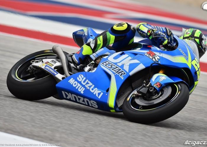 MotoGP Austin Andrea Iannone 29 Suzuki 10