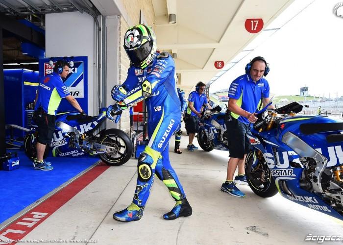 MotoGP Austin Andrea Iannone 29 Suzuki 6