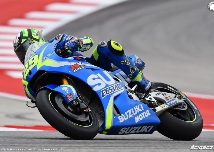 MotoGP Austin Andrea Iannone 29 Suzuki 7