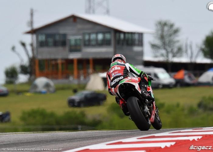 MotoGP Austin Sam Lowes 22 Aprilia 9