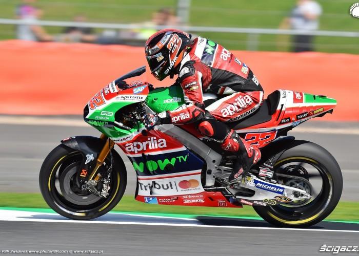 MotoGP Silverstone Aprilia 22 Sam Lowes 1