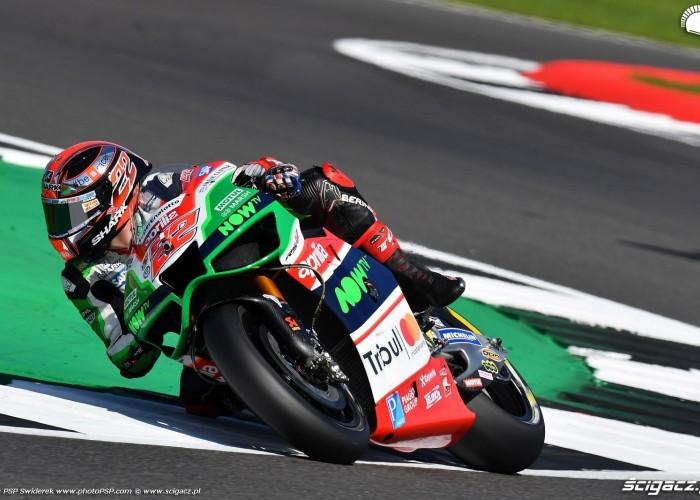 MotoGP Silverstone Aprilia 22 Sam Lowes 14