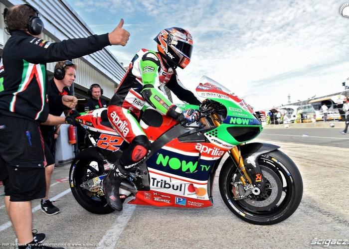MotoGP Silverstone Aprilia 22 Sam Lowes 3
