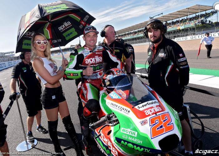 MotoGP Silverstone Aprilia 22 Sam Lowes 7