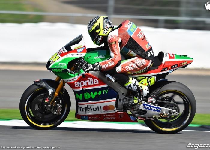 MotoGP Silverstone Aprilia 41 Aleix Espargaro 16
