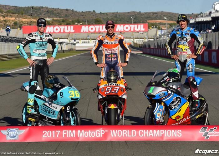 MotoGP 2017 Mistrzowie Swiata World Champion 1