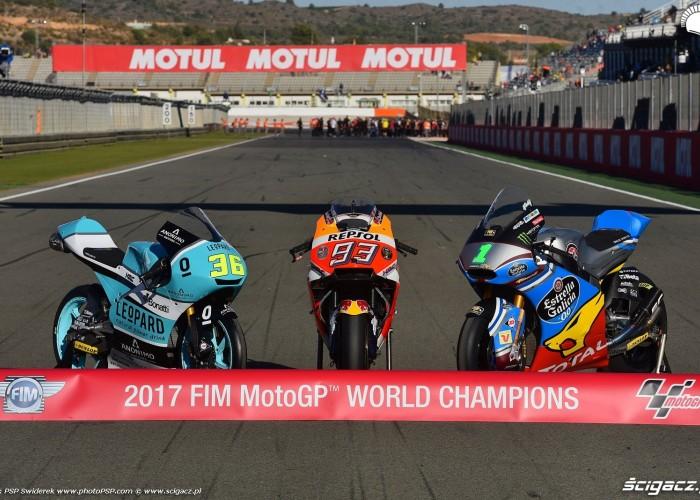MotoGP 2017 Mistrzowie Swiata World Champion 2