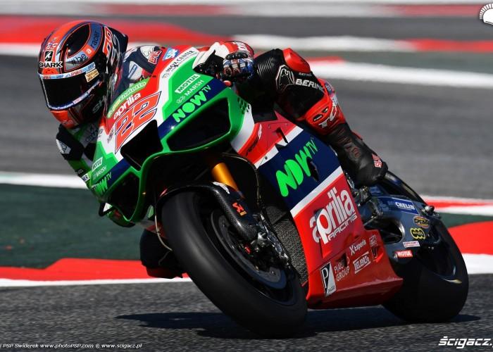MotoGP Catalunya Aprilia 22 Sam Lowes 10