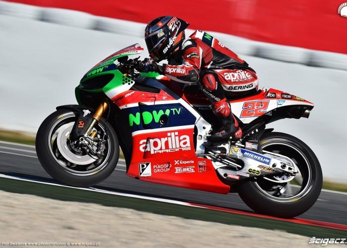 MotoGP Catalunya Aprilia 22 Sam Lowes 11