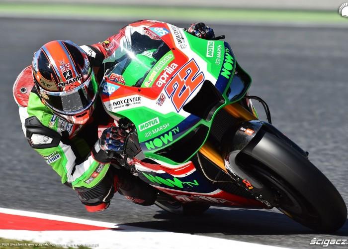 MotoGP Catalunya Aprilia 22 Sam Lowes 12