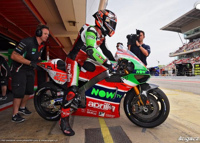 MotoGP Catalunya Aprilia 22 Sam Lowes 3